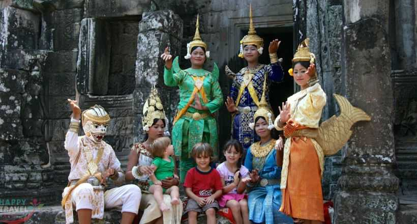Vietnam & Cambodia Family Tour